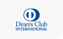 Diners Club cards accepted here